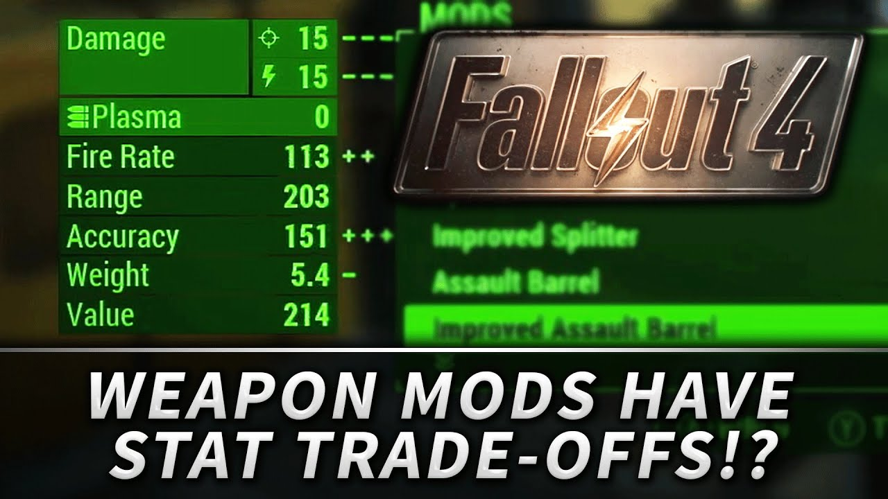 Trade Stands Fallout 4 : Fallout modification trade offs for stats youtube