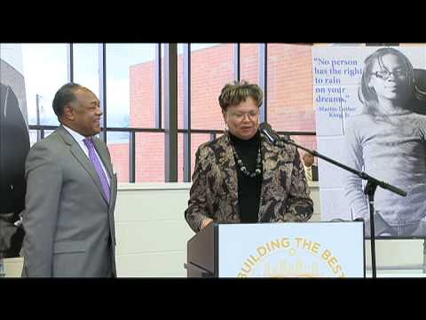 Martin Luther King, Jr. Middle School Grand Opening - January 6, 2014