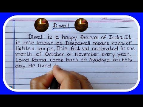 Essay On Diwali in English- Diwali Essay Writing in English- Learn Essay Speech