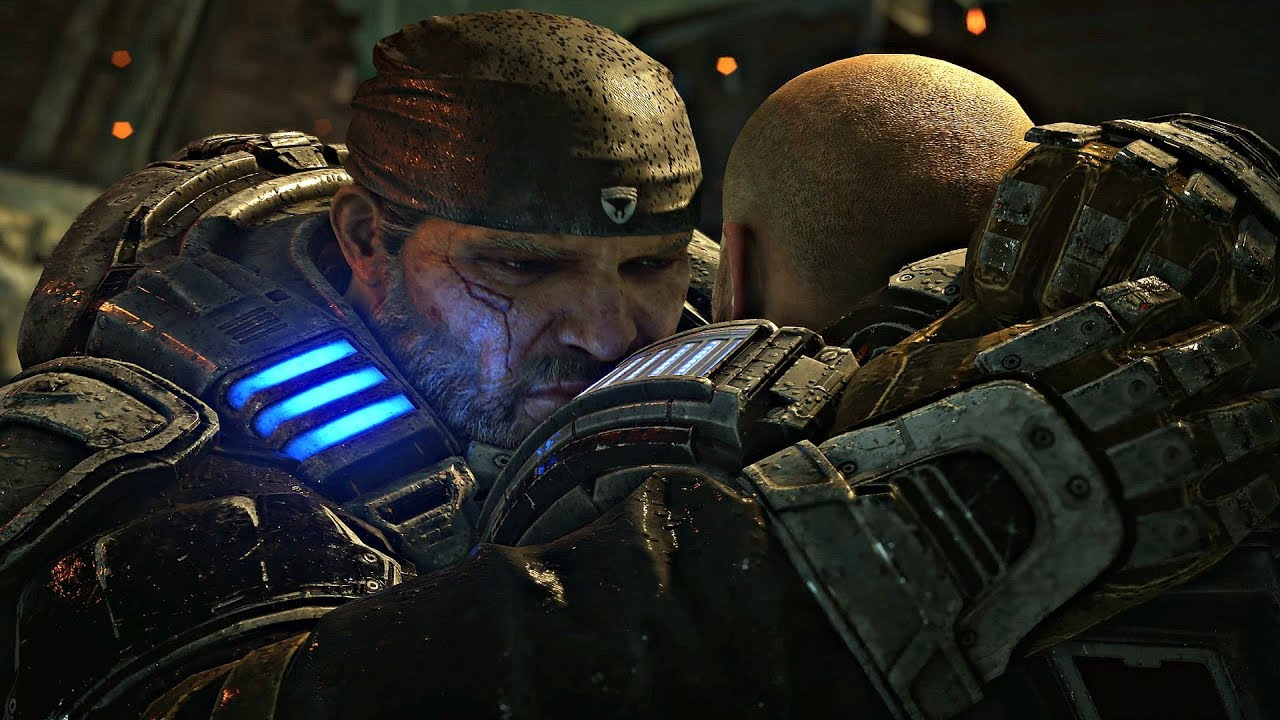 GEARS 5 - Save Del vs Save JD Outcome & Endings (Gears of War 5 2019) thumbnail