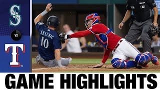 Mariners vs. Rangers Game Highlights (7/30/21)