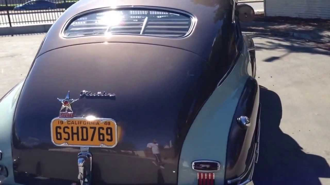1948 Chevy Fleetline Aerosedan Youtube