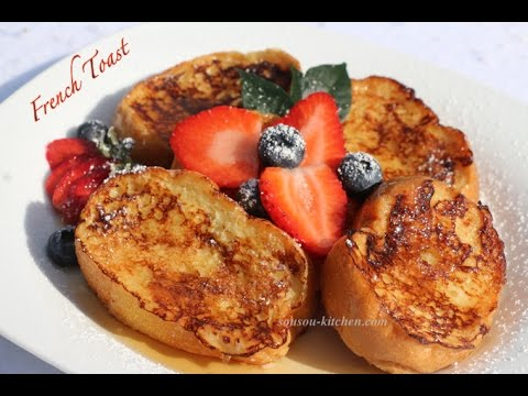 recette-pain-perdu-/french-toast-recipe-الطوست-الفرنسي