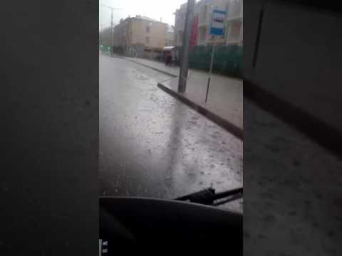 Град в Нальчике 19.04.2017 г