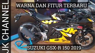 SUZUKI GSX-R 150 2019 | FITUR DAN WARNA TERBARU BUAT TAMPILAN LEBIH KEREN.