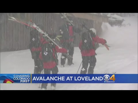 No Skiers Found In Avalanche At Loveland Ski Area