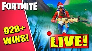 🔴 Best Fortnite Nintendo Switch Player // 920 Wins // New Snowboard!! // Gameplay + Tips!!