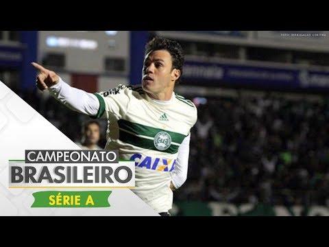 Melhores Momentos - Gols de Avaí 1 x 4 Coritiba - Campeonato Brasileiro (13/07/2017)