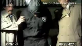 VENDOR HOMICIDE ARREST:  PERP WALK, 114 PRECINCT, QUEENS ASTORIA - 1989