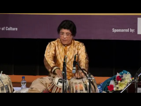Pandit Anindo Chatterjee and Sri Anubrata Chatterjee tabla duet in Delhi 21st February 2017 part 2