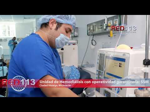 VIDEO Unidad de Hemodiálisis de Ciudad Hidalgo, con operatividad garantizada: SSM
