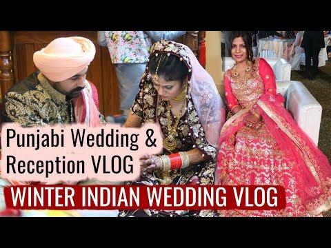 The Punjabi Wedding And Reception Vlog | SuperPrincessjo