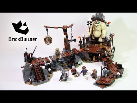 LEGO The Hobbit The Goblin King Battle (79010) Review ...