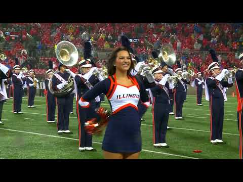 Marching Illini Halftime Show: Pirates of the Caribbean at Ohio Stadium | November 18, 2017