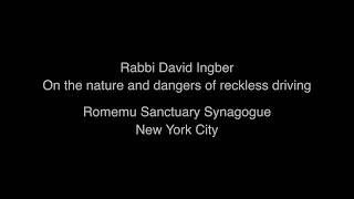 Sermons for Safe Streets - Romemu Synagogue