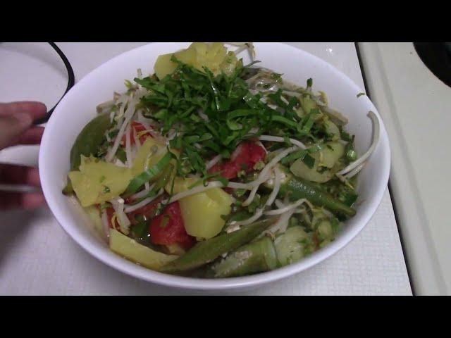 Quanh Bếp ở Mỹ: Canh Chua Cá do người miền Tây năm xưa nấu (hot & sour soup) - NVTC2