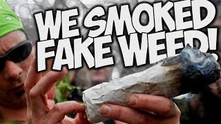 WE SMOKED FAKE WEED!!