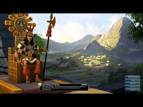Civilization V OST | Pachacuti Peace Theme | Traditional Inca Melody Fragments