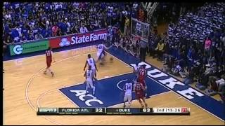11/15/2013 Duke vs Florida Atlantic 2nd Half