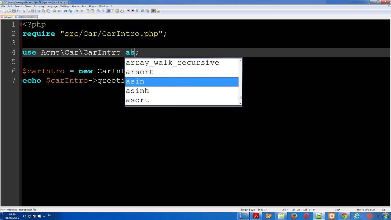 מדריך PHP מונחה עצמים - מרחב השמות namespace ב-PHP ...