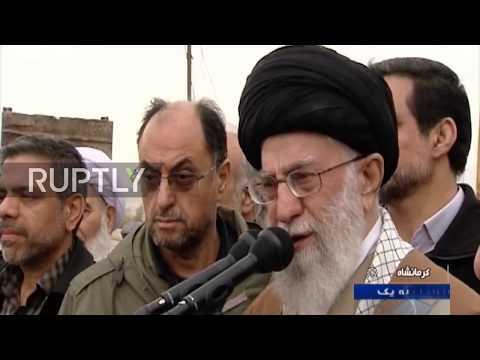 Iran: Ayatollah Khamenei 'not satisfied' with earthquake response