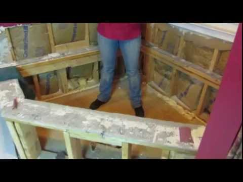 DIY HIP CHicks How to Remove a Corner Bath Tub - YouTube