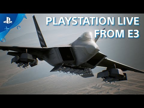 Ace Combat 7: Skies Unknown - PS4 Gameplay Demo | E3 2017