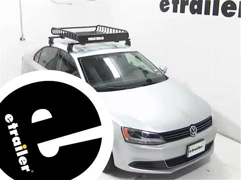 Yakima LoadWarrior Roof Cargo Basket Review - 2013 Volkswagen Jetta - etrailer.com