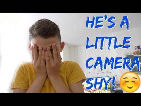 HE'S A LITTLE CAMERA SHY!☺️ #30 VLOG