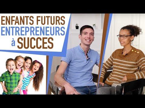 7 ÉTAPES pour faire de vos ENFANTS des ENTREPRENEURS à SUCCÈS !  TARISAYI de CUGNAC