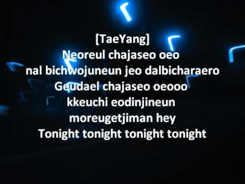 Tonight- Big Bang Lyrics