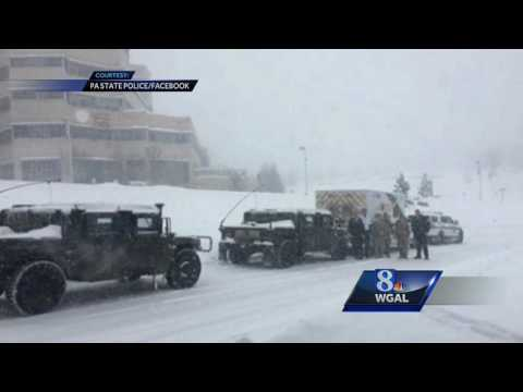 23-month-old Pennsylvania boy OK after emergency snow transport to hospital