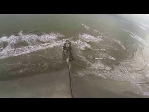 Folly Beach Drone - County Park - GoPro - DJI Phantom