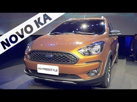 Novo Ford Ka FreeStyle 2019 com Giu Brandão