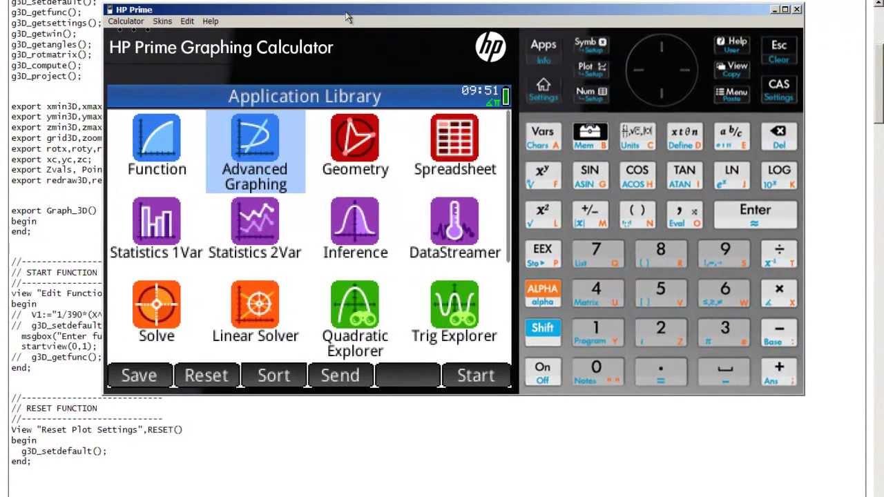 HP Prime - installing an app