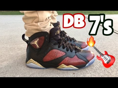 "Air Jordan 7 Retro DB ""Damien Phillips"" on Feet"