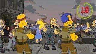 Симпсоны - лучшие моменты! Дом ужасов 21! Выпуск №100 ᴴᴰ