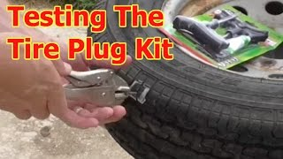 Diy- Fix A Tire With A $10 Plug Kit By Slime 2040-A