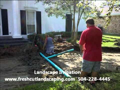 Mandeville Landscaping Companies - Fresh Cut Landscaping