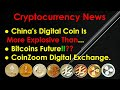 Cryptocurrency News 2020 - China's Digital Coin Is Explosive. Bitcoins Future. CoinZoom Digital Exch