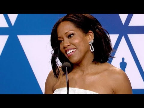 Oscars 2019: Regina King Wins Best Supporting Actress (FULL INTERVIEW)