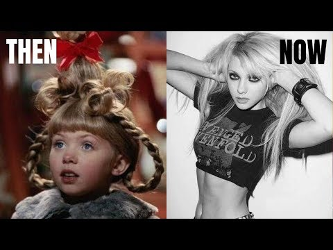 How The Grinch Stole Christmas Cast 2020 THEN AND NOW   Grinch Cast 2020   YouTube