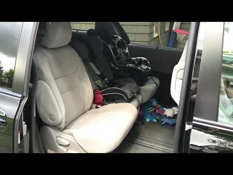 Back row access with 2 carseats
