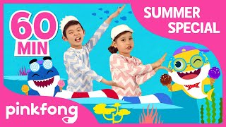 Baby Shark Dance and more | Best Summer Songs | +Compilation | Pinkfong Songs for Children