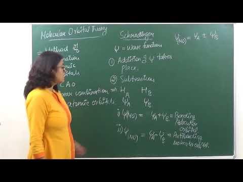 CHEM-XI-4-07 Molecular Orbital theory (2017) Pradeep Kshetrapal Physics channel