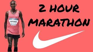 How Eliud Kipchoge Ran a 2 Hour Marathon