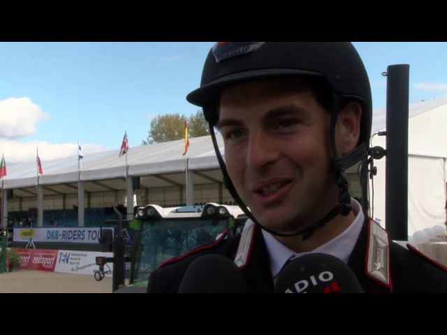 Emanuele Gaudiano im Kurz-Interview zur DKB-Riders Tour 2017