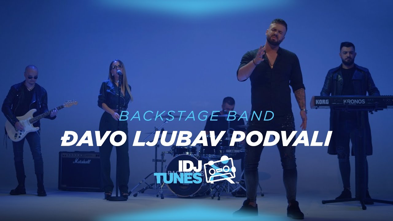 BACKSTAGE BAND - DJAVO LJUBAV PODVALI (OFFICIAL VIDEO)