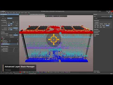 Advanced Layer Stack Manager in Altium Designer