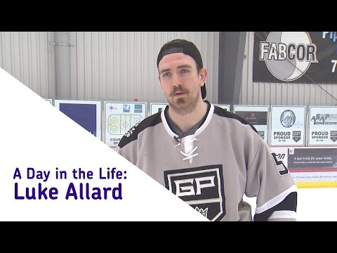 A Day in the Life of Luke Allard - JDA Kings Defenceman
